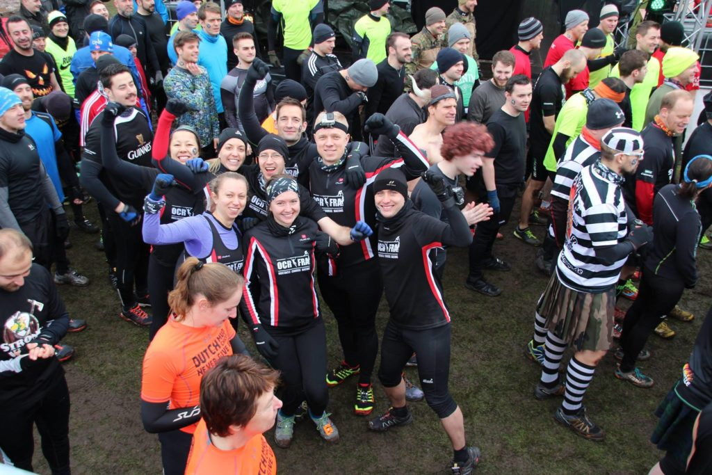 Vor dem Start Strong Viking Mud Edition Fürstenau 2016